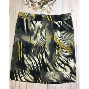 East 5th pleated pencil skirt size XL